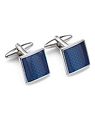 &City Textured Colour Cufflinks