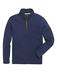 &Brand Tall 1/4 Zip Neck Top