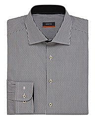 Eterna Mighty Stripe & Dot Shirt