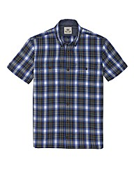 Kayak Tall Check Short Sleeved Shirt
