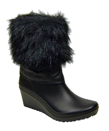 Petal Dolls Fur Ankle Boot