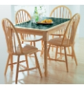 Sultan Pair of Farmhouse Dining Chairs
