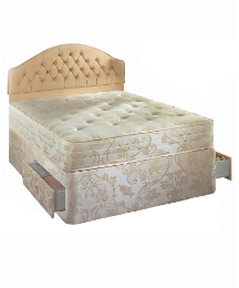 Micracoil Lux Damask Divan 2Dw - Single