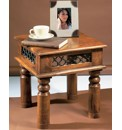 Sheesham Jali End Table