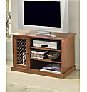 Sheesham Jali TV-VCR Cabinet