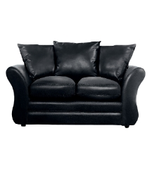 Sarah Faux Leather Two Seater Sofa