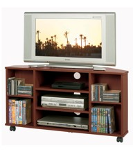 Low Corner TV Video DVD Unit