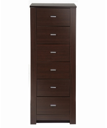 Naples Tall Narrow 6 Drawer Chest