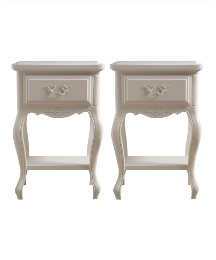 Provencale Bedside Table Pair-Buy&Save