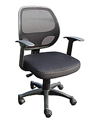Davis Fabric & Mesh Operator Chair