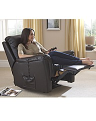 Bristol Bonded Leather Electric Recliner