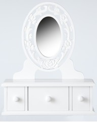 Cambridge Dressing Table Chest Mirror