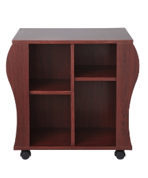Genova Revolving Media Book Storage Unit