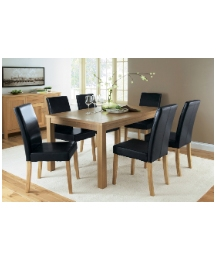 Oakridge Large Rect Table and 6 Chairs