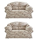 Vienna Two and Two Seater Sofa Suite