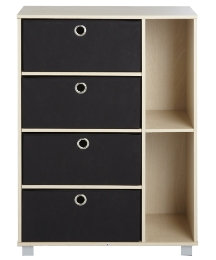 Dansk Four Drawer Storage Shelf