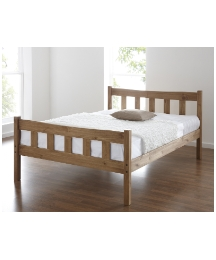 Cuban Kingsize Bed with Mattress