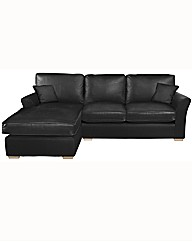 Michigan Three Seater Chaise Sofa-Right