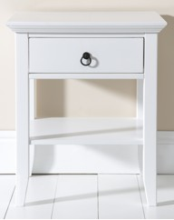 Paris One Drawer Bedside Cabinet