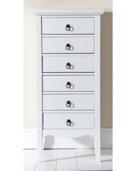 Paris Six Drawer Tallboy Drawers