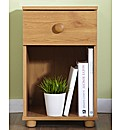 Aspen One Drawer Bedside Table