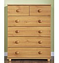 Aspen Six Drawer Chest