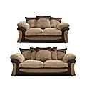 Houston 3 & 2 Seater Sofas