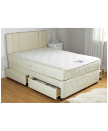 Layezee Dlx Mem FoamTop Divan-4Dw-King