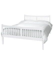 Shaker Bedstead With Mattress - Double
