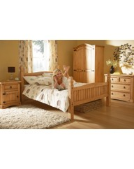 Monterrey Bedstead - King with Mattress