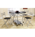 Mini Butterfly Set Table & 4 Chairs
