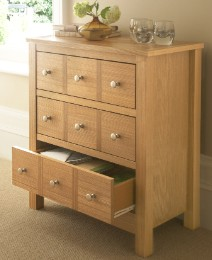 Oakridge Multi Drawer Effect Unit