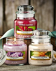 Yankee Candle Three Small Jars Set