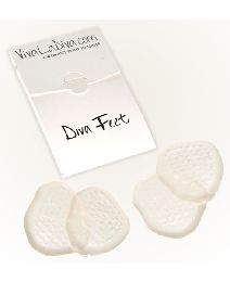Diva Feet Pack Of Two Gel Pads