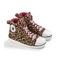 Personalised Ladies Leopard Slipper Boot
