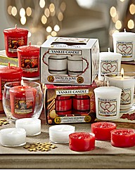 Yankee Candle Red & White Bumper Pack
