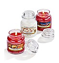 Yankee Candle Set Of 3 Festive Favourite