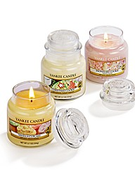 Yankee Candle 3 Home Baking Small Jars