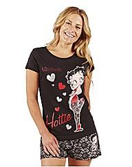 Personalised Betty Boop Shortie Set
