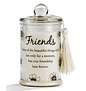Sentiments Jar Candle