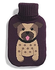 Puppy Hot Water Bottle & Cover