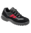 Globetrotters Leather Safety Trainers