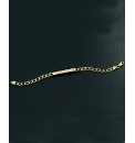 Gents 9 Carat Gold ID Bracelet