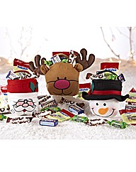 Set of Three Festive Goody Bags