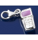 Sterling Silver Mobile Phone Charm