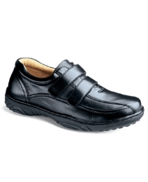 Cushion Walk Mens Twin Touch&Close Shoes