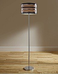 Striped Floor Lamp