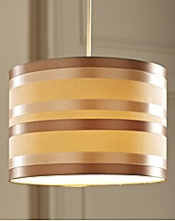 Striped Ceiling Pendant