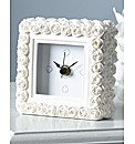 Together Rose Mantle Clock