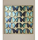 Metallic Butterflies Canvas